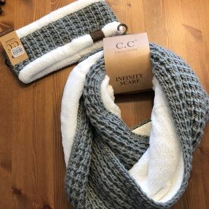 Scarf and hat bundle